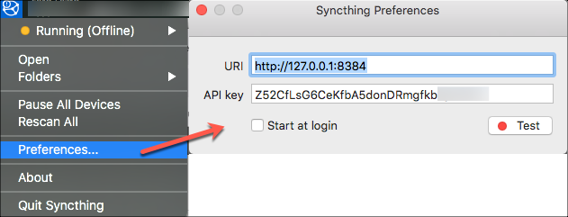 syncthing-select-pref