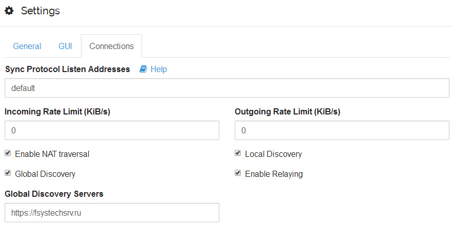 Setting up custom discovery server - Support - Syncthing Forum