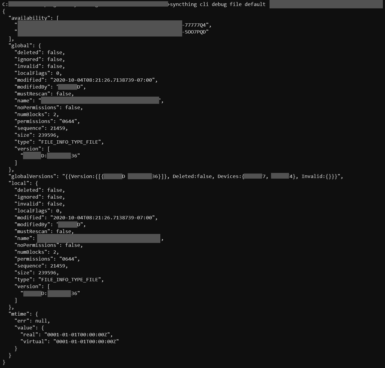 debug-output